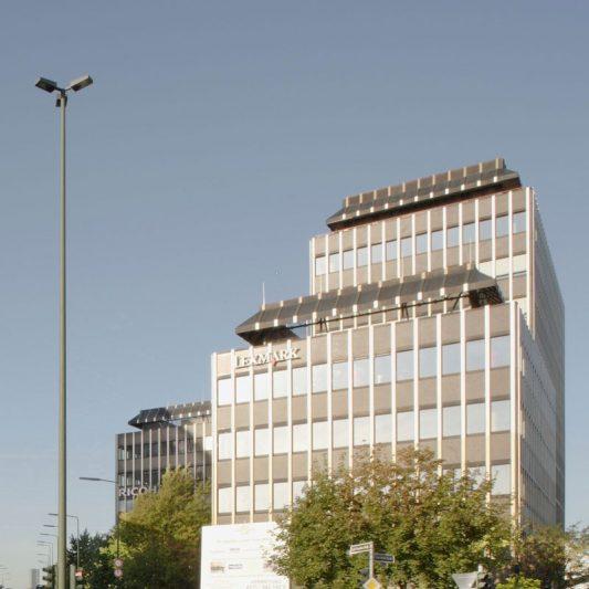 Bürocenter Nord Fassade Gebäude Oberrather Straße