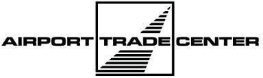 Logo Airport Trade Center Landebahn s/w