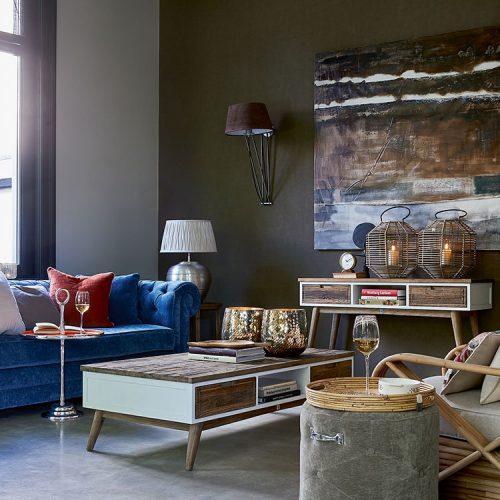 Wohnzimmereinrichtung von Riviera Maison
