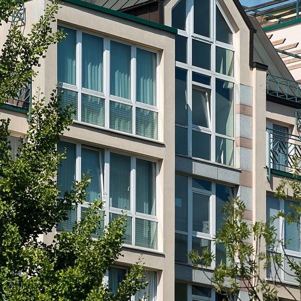 Prinzenpark Ausschnitt Fassade Giebelwohnung