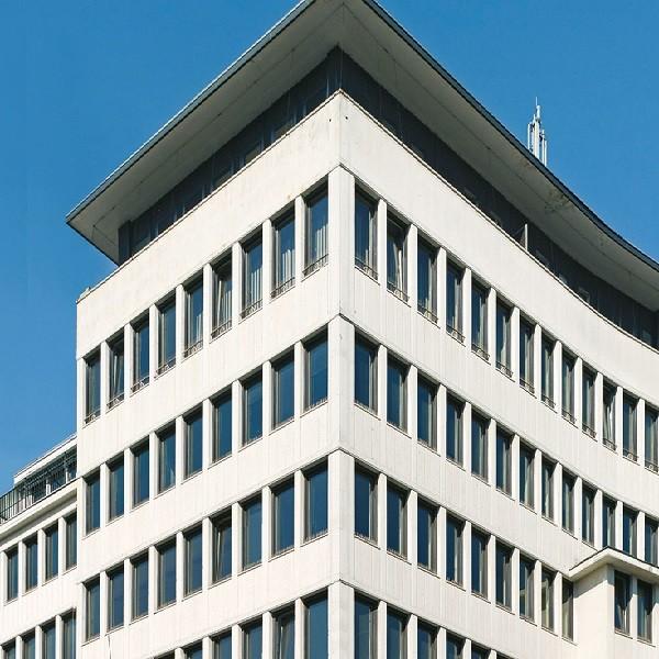 Schadowstraße 86-88 Detail Fassade obere Etagen